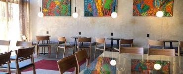 Ambiente do sushi bar de Jun Sakamoto na Casa Cor Goiás 2021 | Foto Luísa Gomes/Mais Cinco