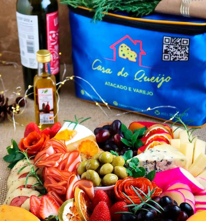 Tábua de Frios da Casa do Queijo, opção entre as queijarias em Goiânia