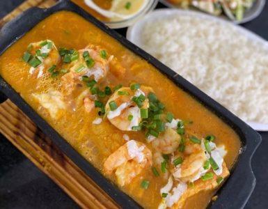 Bar Marronzinho é opção para comer peixe na telha em Goiânia