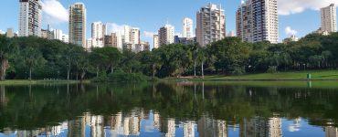 Parque Vaca Brava em Goiânia, cidade que recebe a Restaurant Week